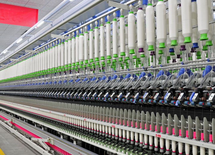 Humidification & humidity control in textile manufacturing