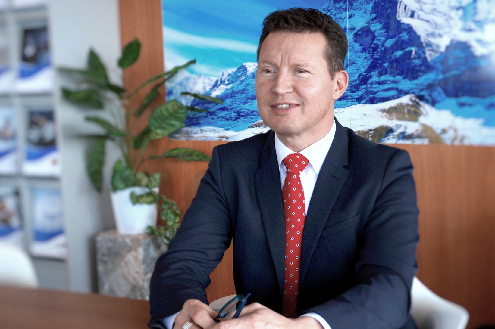 Roland Kleeb, CFO a.i. Condair Group