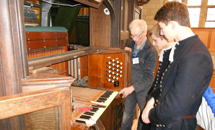 Condair keeps Christ's Hospital organ in tune