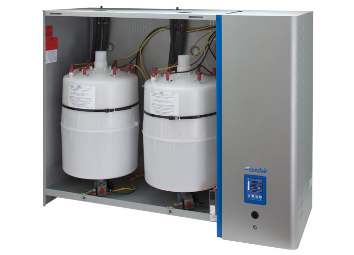 Wide humidification capacity