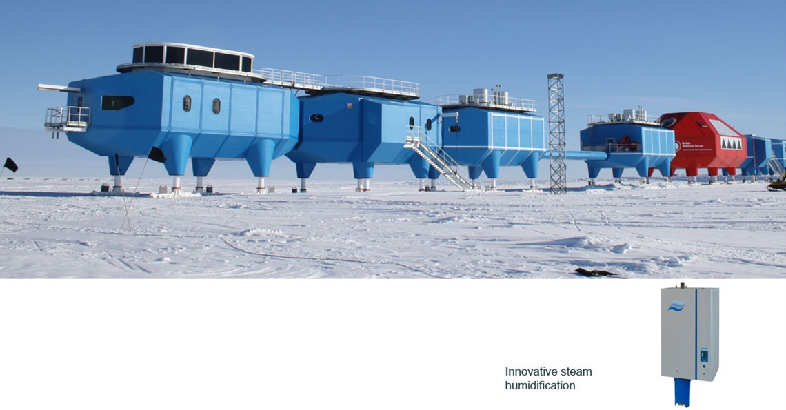 Humidification in the Antarctic