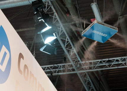 Condair humidifies Drupa halls