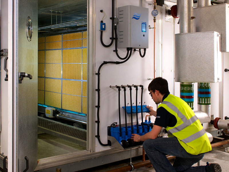 Condair Me A New Generation Of Evaporative Humidifier