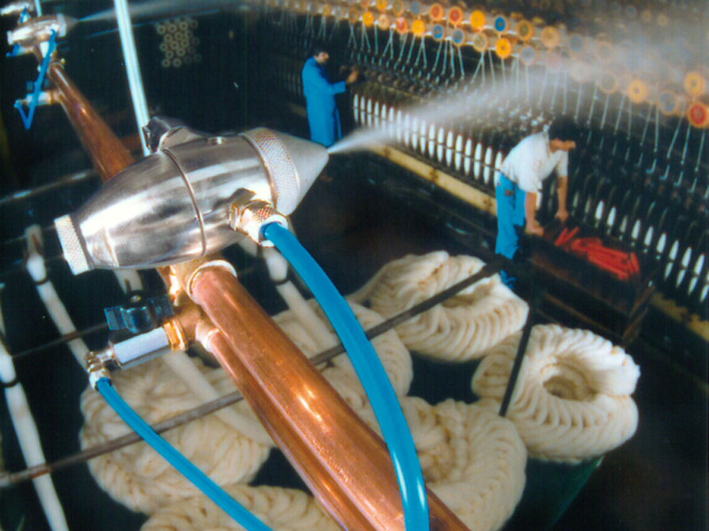 The importance of humidity control in textile processing
